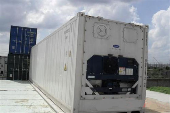 China Second Hand Reefer Containers For Sale 12.2m Length 40 Feet Reefer Container factory