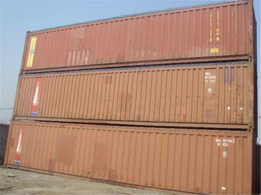 China 40ft Open Top Container Second - Hand / 45 Ft Open Top Container distributor