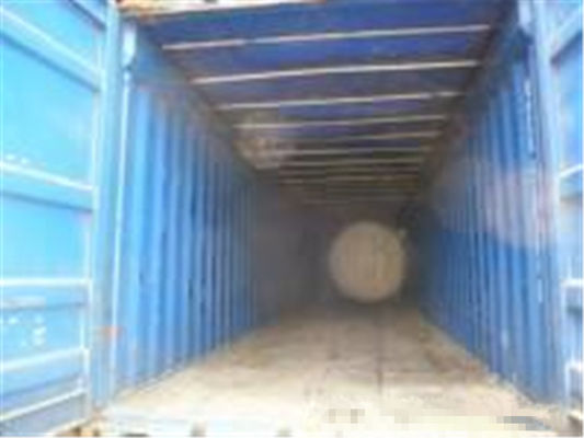 China Blue Second Hand 40 Foot Open Top Container Volume 65.9 Cbm 12.19m Length distributor