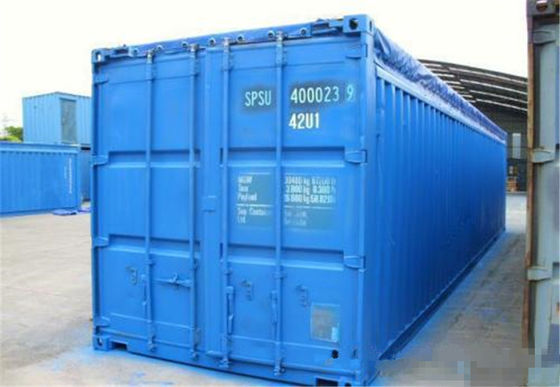 China 40OT second hand goods Open Top Shipping Container for standard transport distributor
