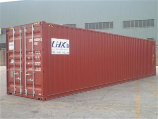 China 2nd Hand Steel High Cube Shipping Container / 45 Hc Container distributor