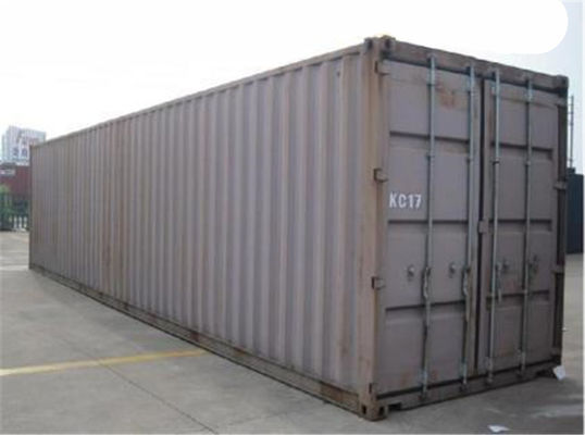 China Second Hand Steel 45 Foot  High Cube Shipping Container Multi Door distributor