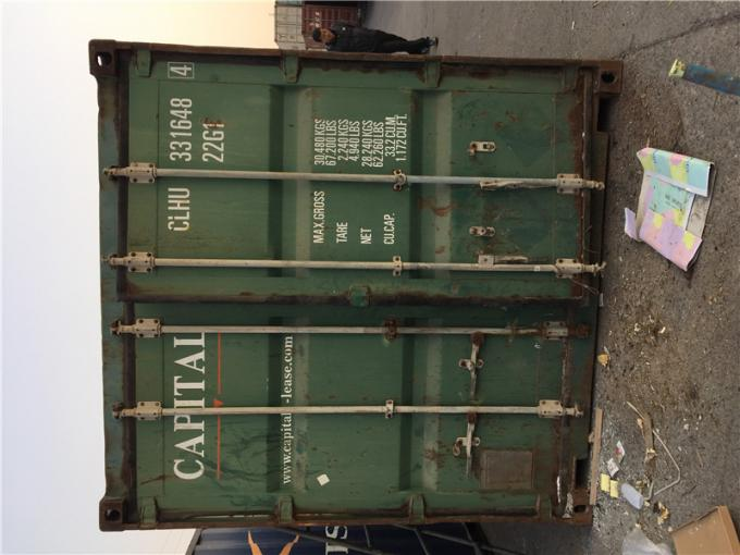 Blue Used Metal Shipping Containers International Standards Dry Cargo Container